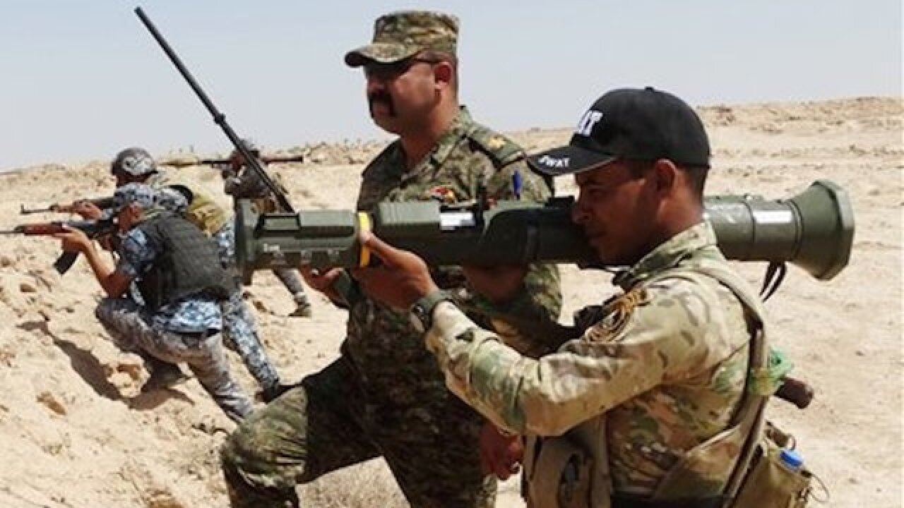 US Marines deploy to northern Iraq
