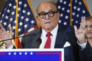 Rudy Giuliani Dominion