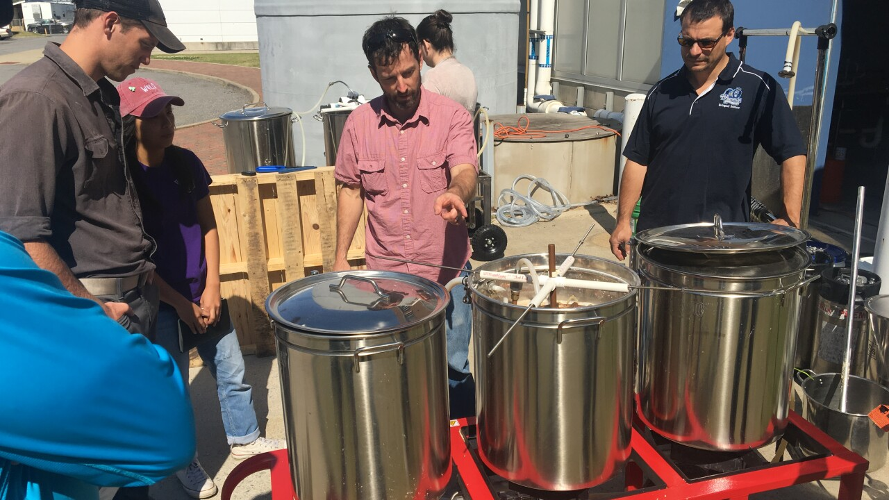 Beer Brewing 101: ODU class teaching the next generation of brewers