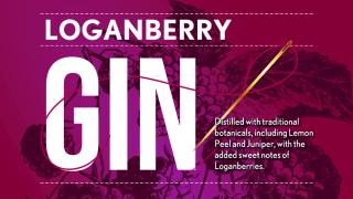 black button distillery loganberry gin