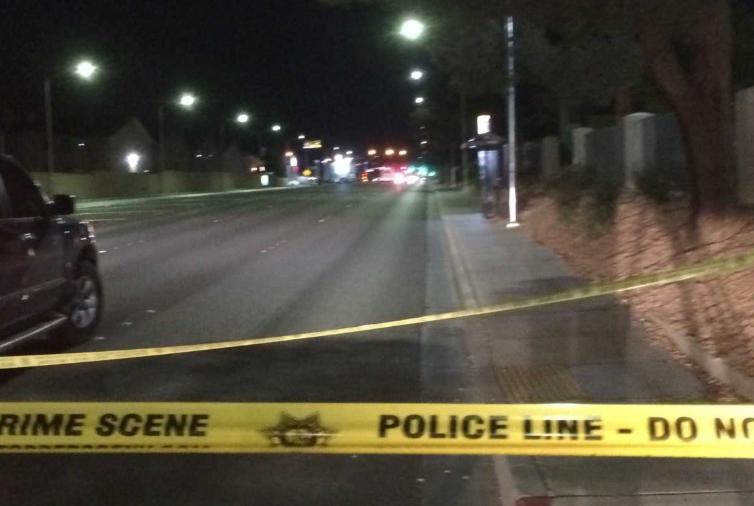 Lake Mead Boulevard crash scene.PNG