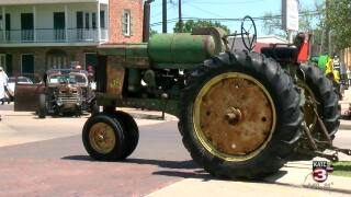 6th annual classic car and antique tractor show Crowley