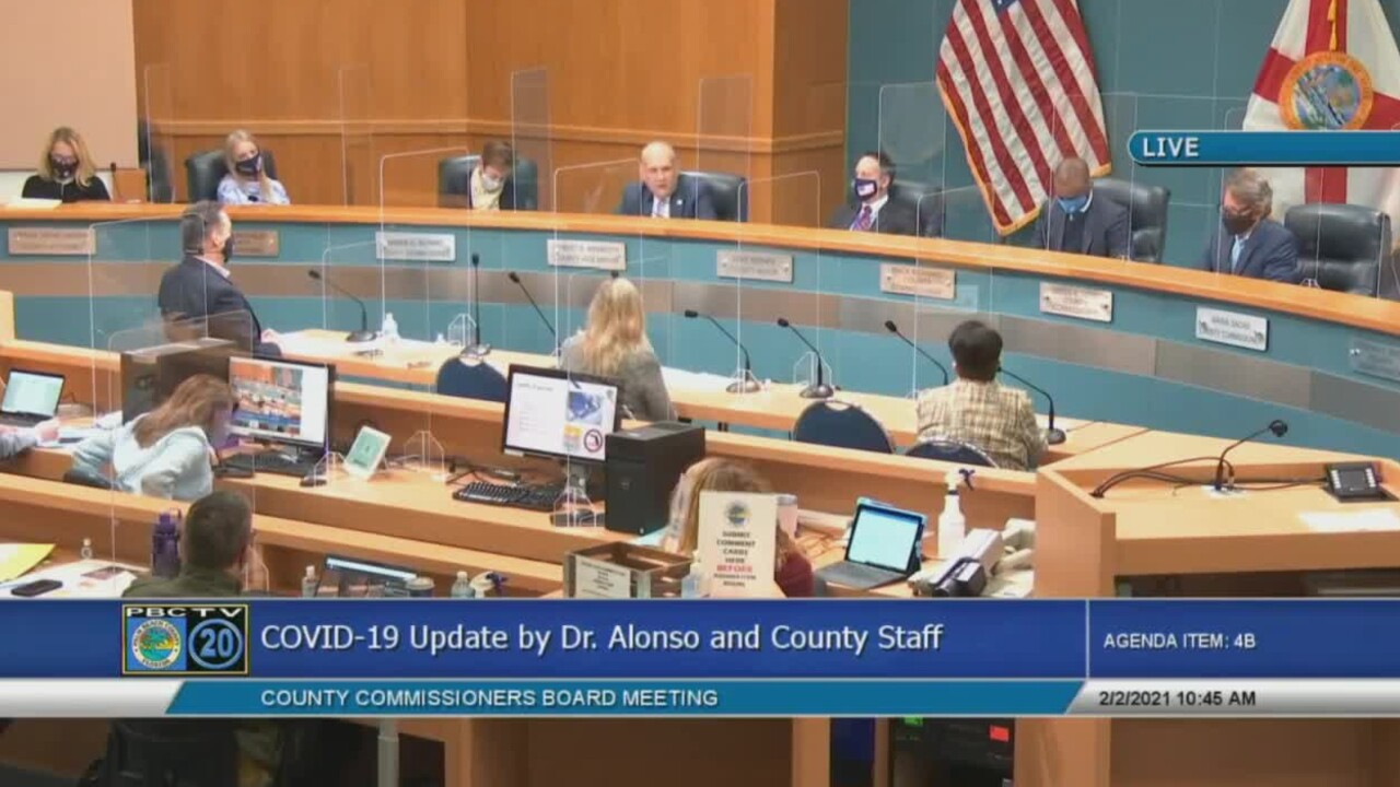 Palm Beach County commissioners discuss their latest response to the COVID-19 pandemic on Feb. 2, 2021.jpg