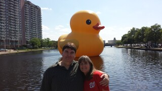 Photos: Share your photos of the giant rubber duck!