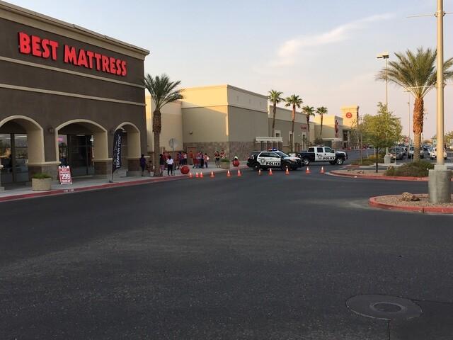 PHOTOS: Shooting at popular shopping center on Blue Diamond Road