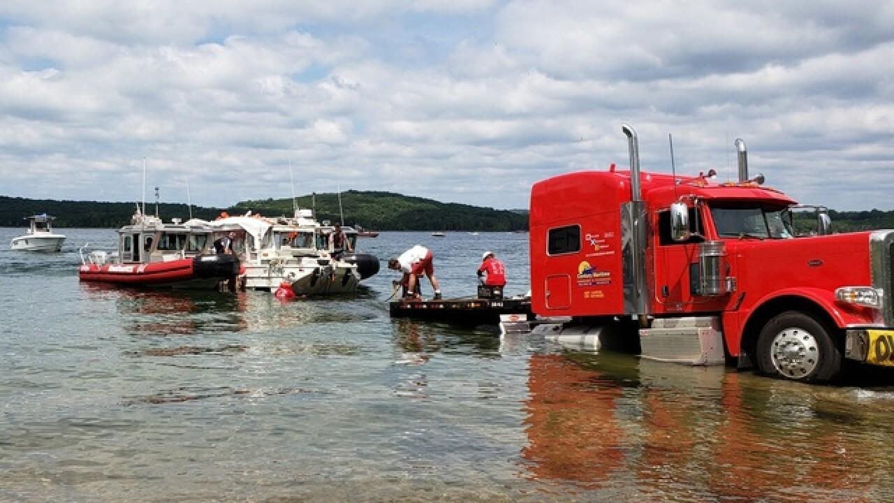WATCH: Missouri duck boat to be raised