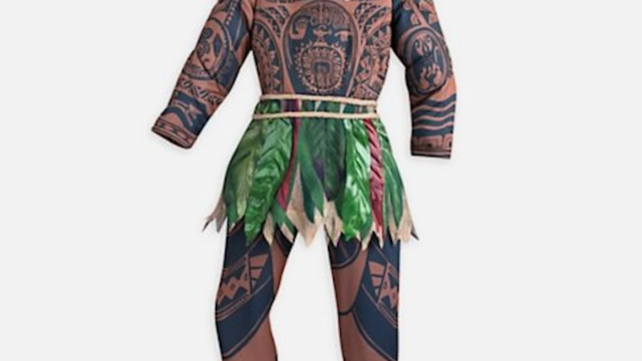 Disney pulls 'Moana' costume that critics called racist