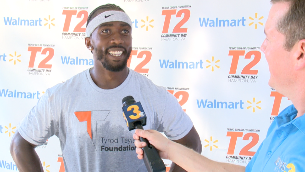 Tyrod's Take: Wink goes 1-on-1 with NFL QB, former Virginia Tech standout Tyrod Taylor