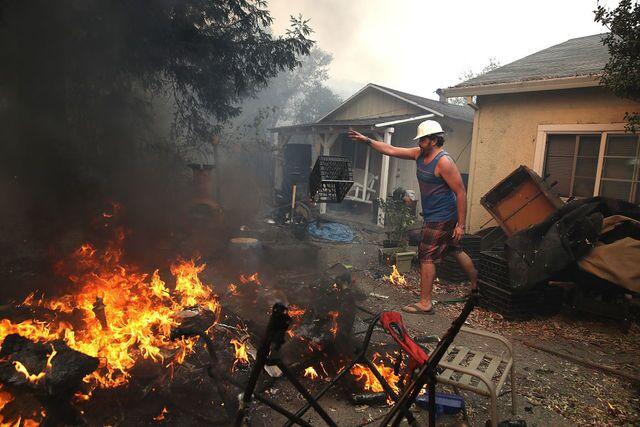 Wildfires ravage Northern California