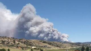 Deep Creek Fire June 15