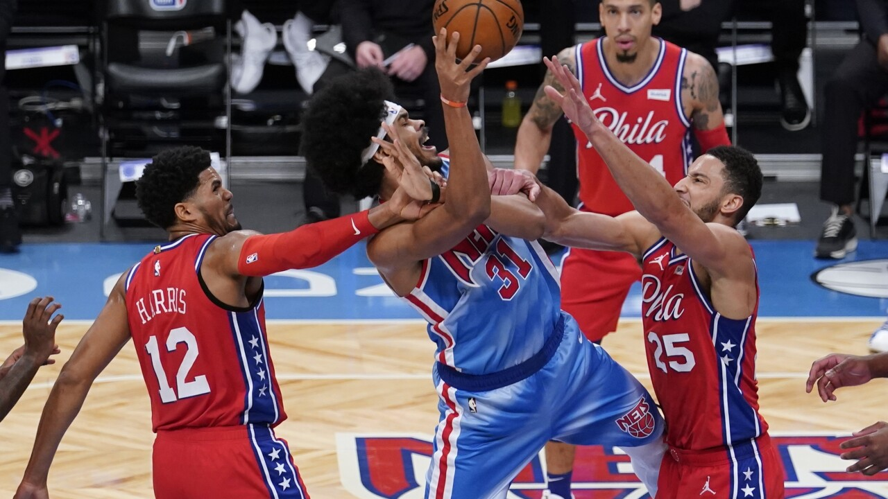 76ers Nets Basketball