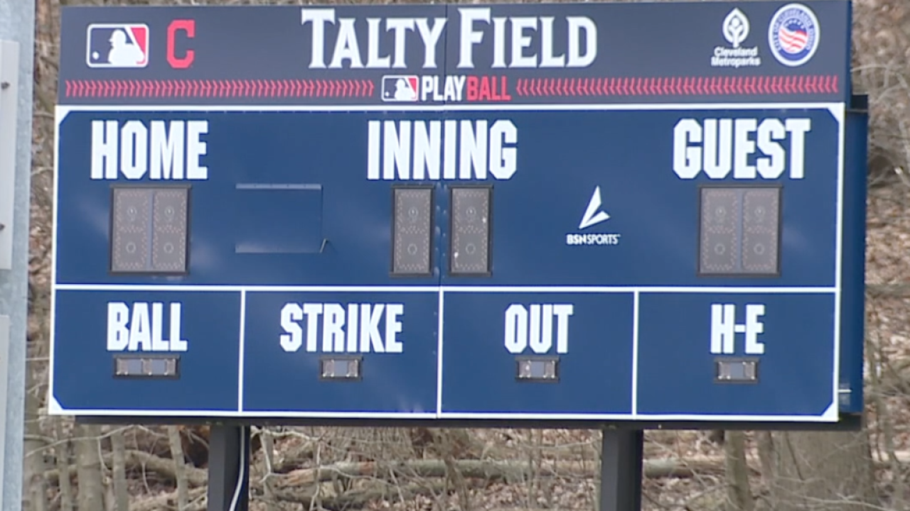 CLE youth baseball field controversy