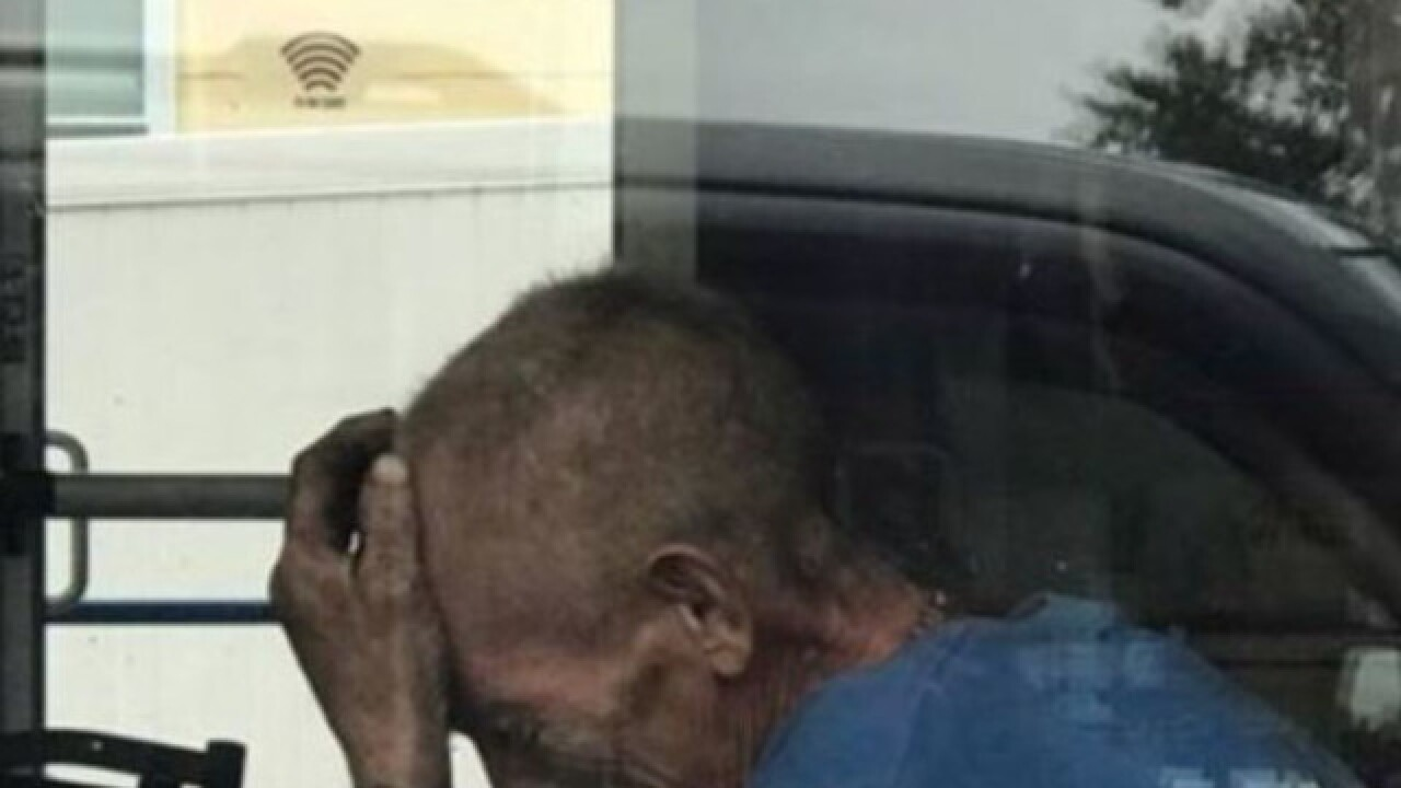 Homeless man getting help after viral photo