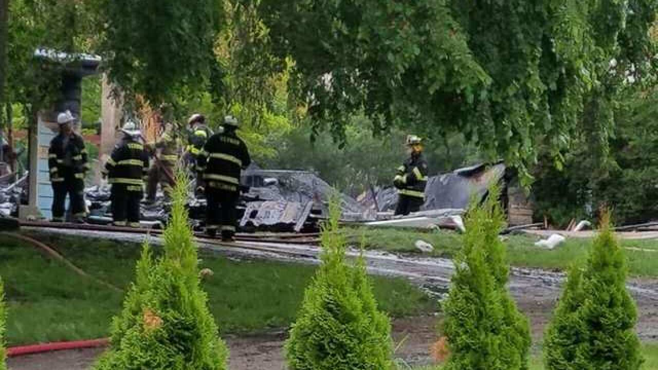 1 injured after potential explosion in Vernon