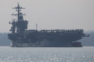 San Diego-based aircraft carrier launches strikes against Islamic State targets