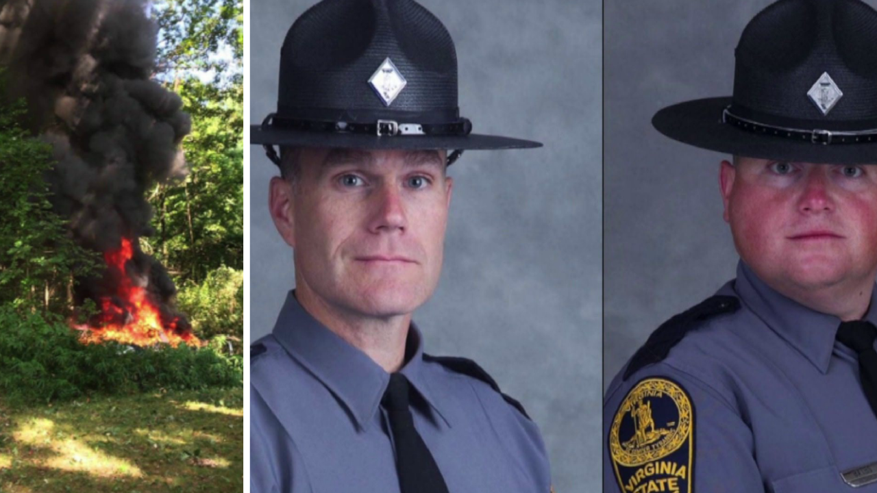 Families of state troopers killed in helicopter crash during Charlottesville rally sue Virginia State Police