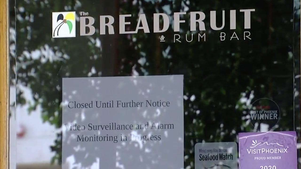 Breadfruit closed during coronavirus pandemic