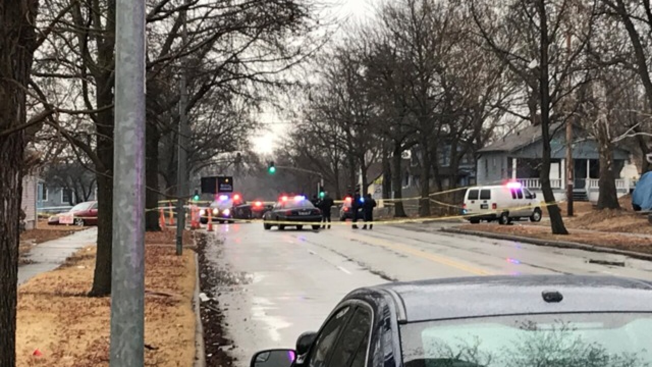 One killed in shooting at Gregory and Indiana