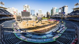 Supercross races into San Diego's Petco Park