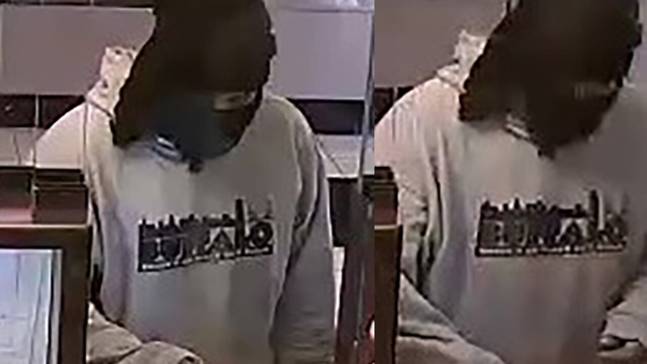 Police hunting for lunchtime bank bandit