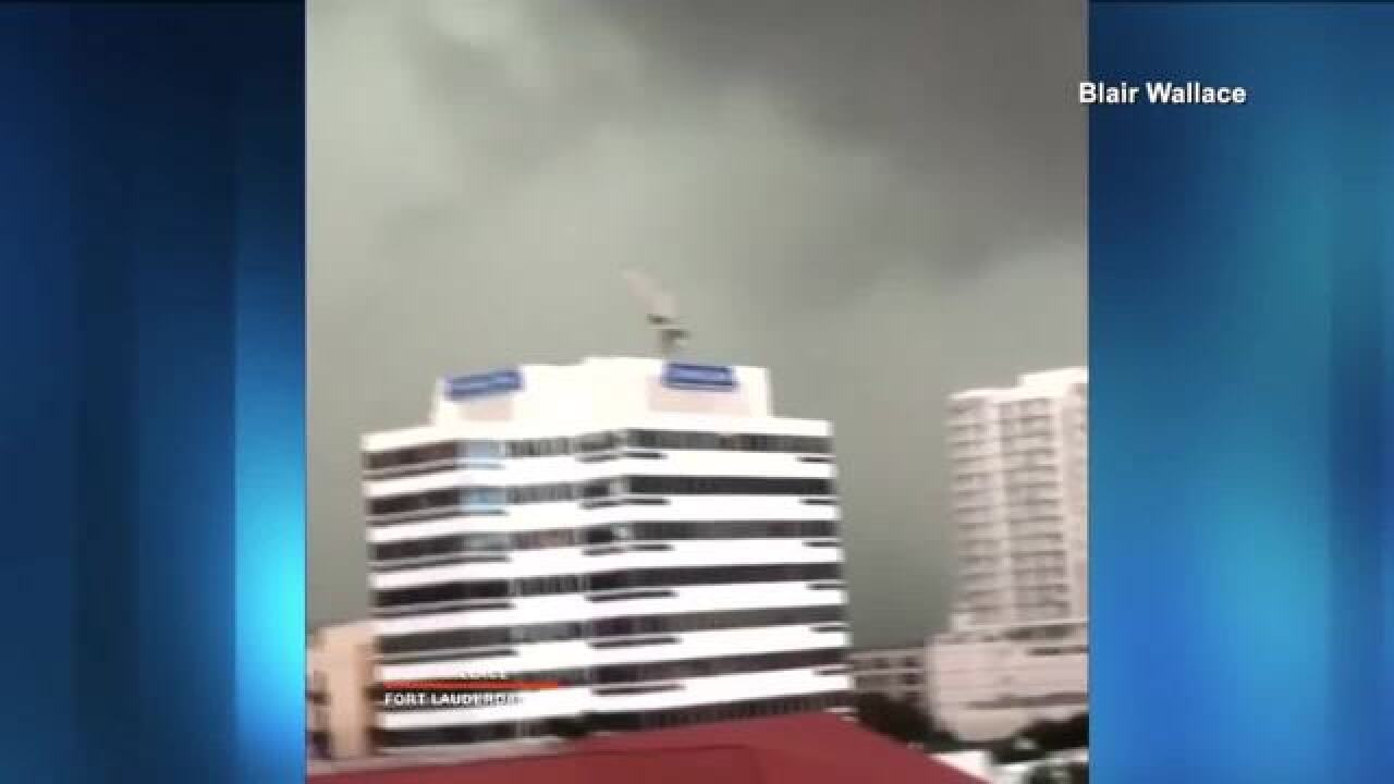 Two tornadoes confirmed in Fort Lauderdale
