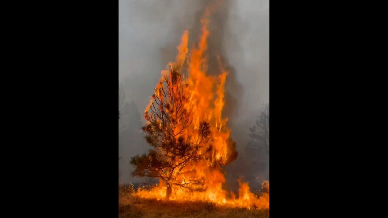 Huntley fire Robert Guenther