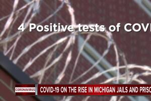 COVID-19 on the rise in Michigan jails and prisons