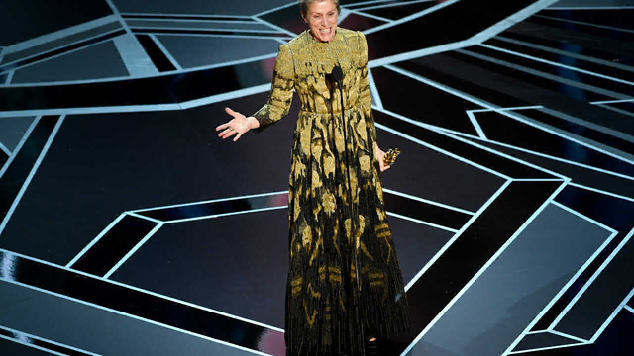 "What Oscar winner Frances McDormand meant by ""Inclusion Rider"""