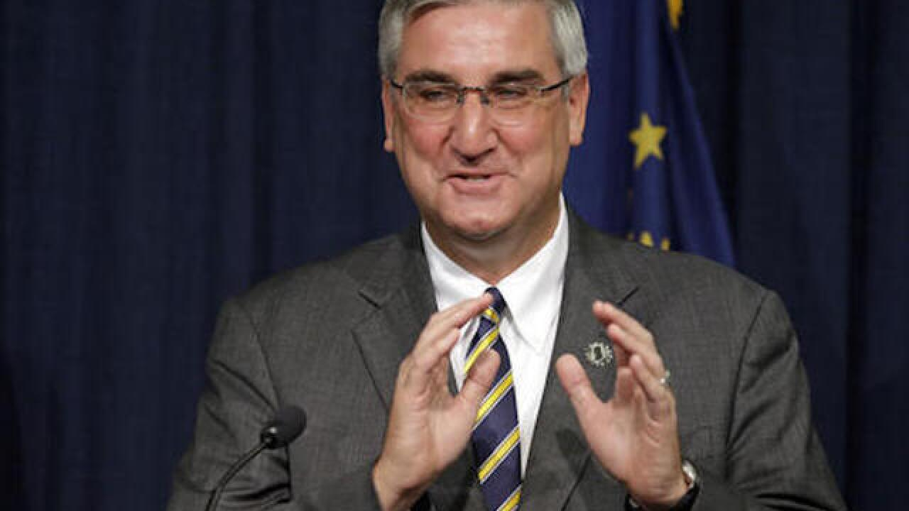 Eric Holcomb replaces Mike Pence on Indiana gubernatorial ballot