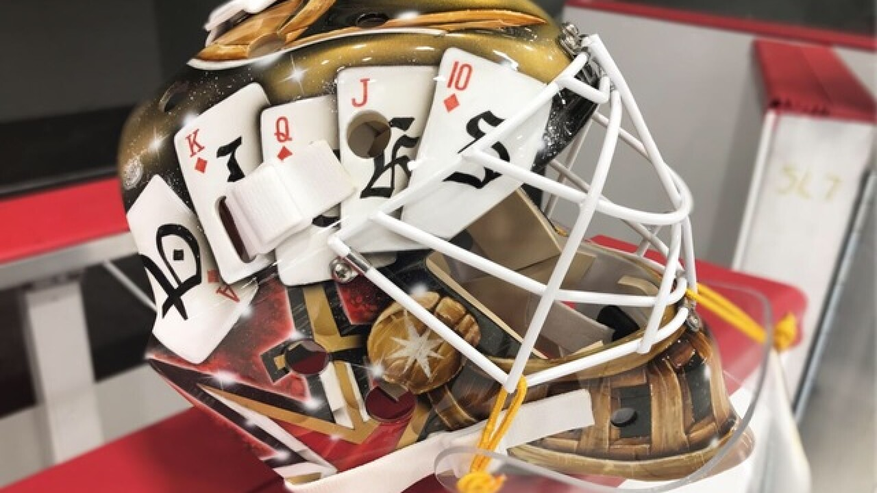Golden Knights announce winner of mask contest