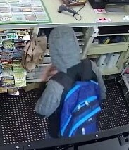 Photos: Chesterfield thieves flash large knife — steal food, e-cigs