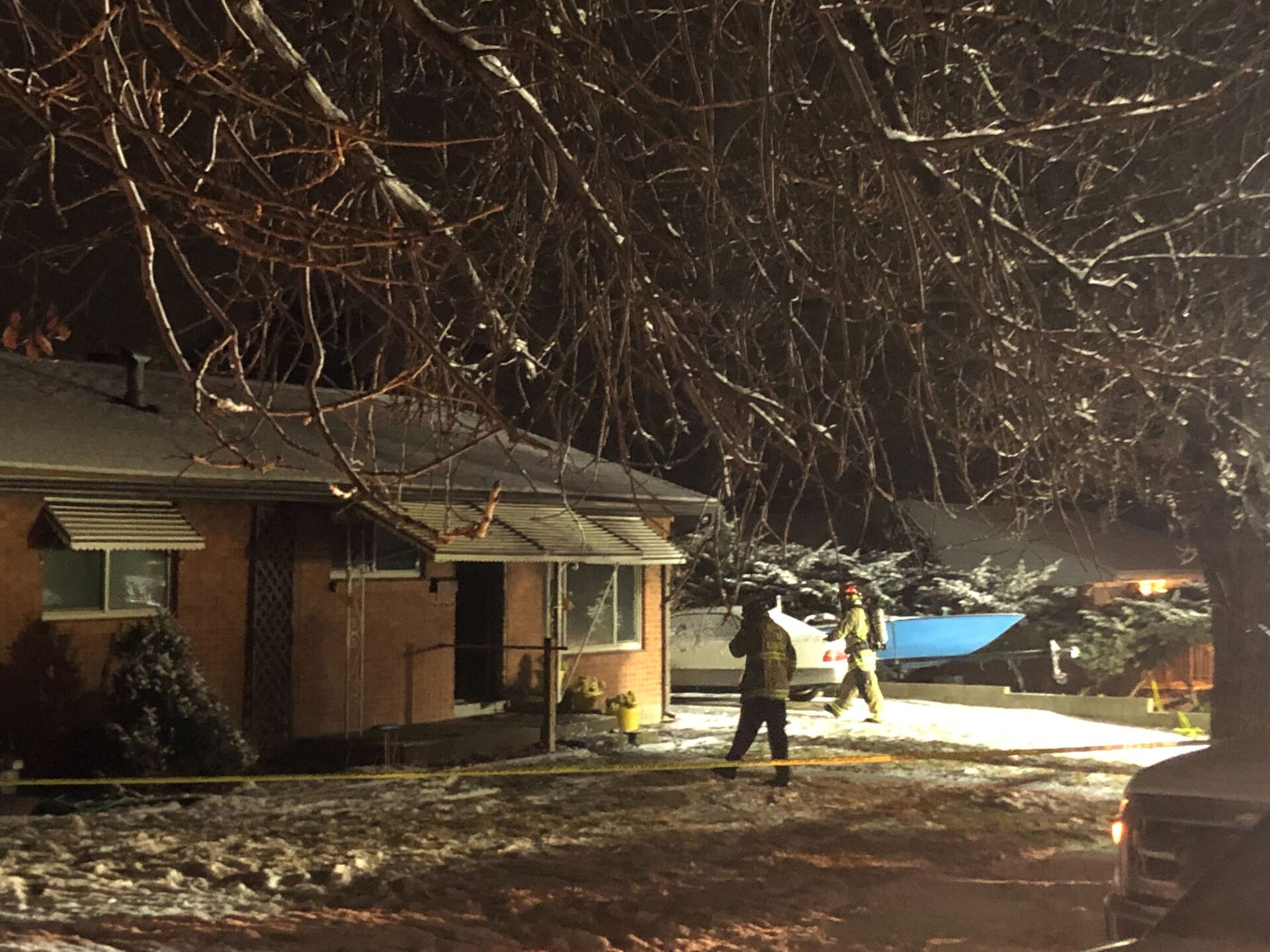 Photos: One man is dead in early morning house fire inMagna