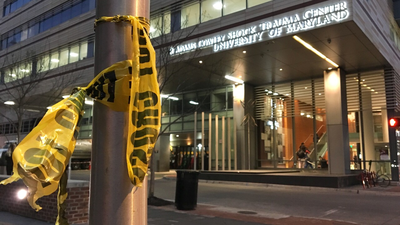 shock trauma shooting