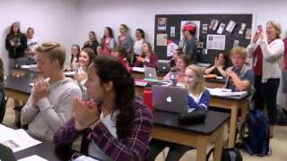 Bozeman High School awarded One Class at a Time check