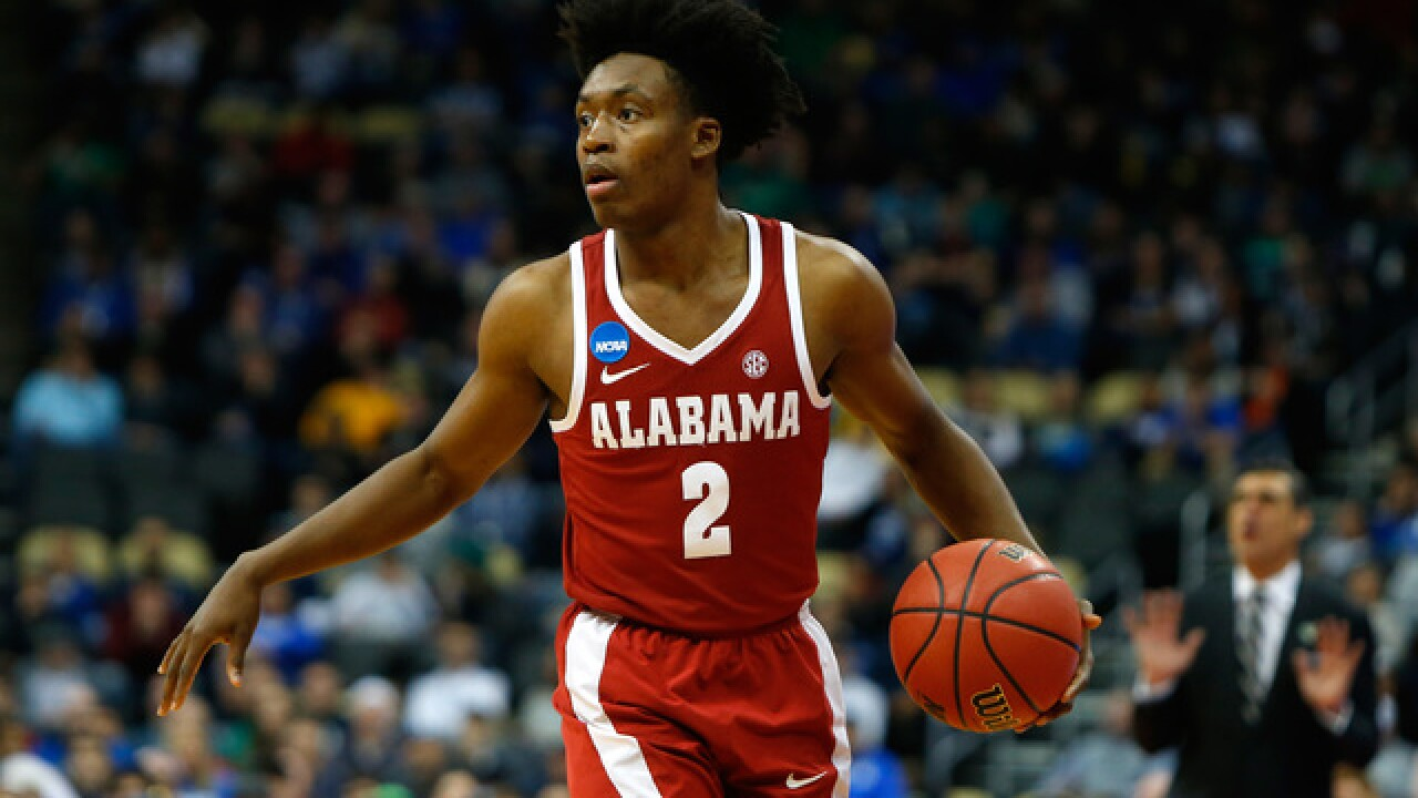 Sooooo ... what do you think, LeBron? Cavs take point guard Collin Sexton with first-round pick