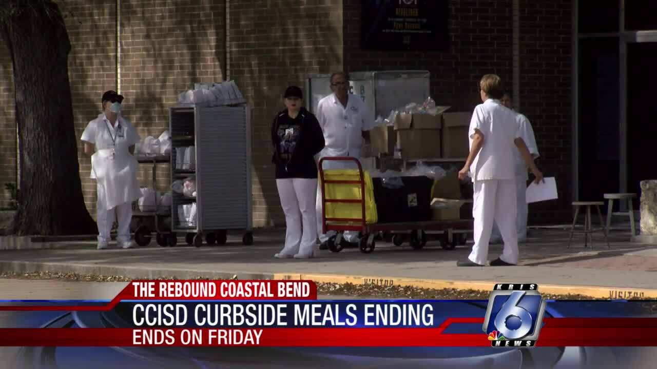 CCISD summer curbside food distribution ends this week