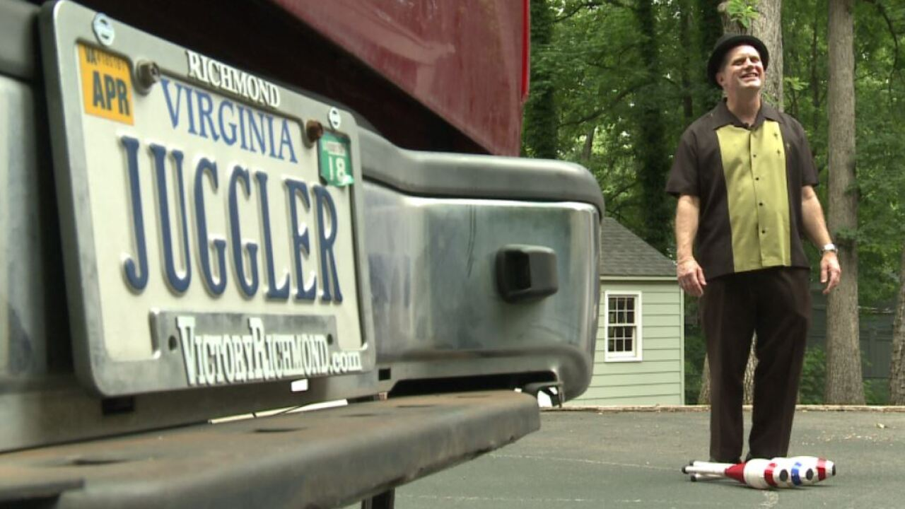 Entertainer overcomes adversity through his passion ofjuggling