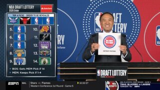 Pistons fall to 7th in the NBA Lottery