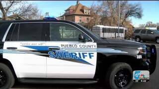 New Pueblo County Sheriff's Office vehicles