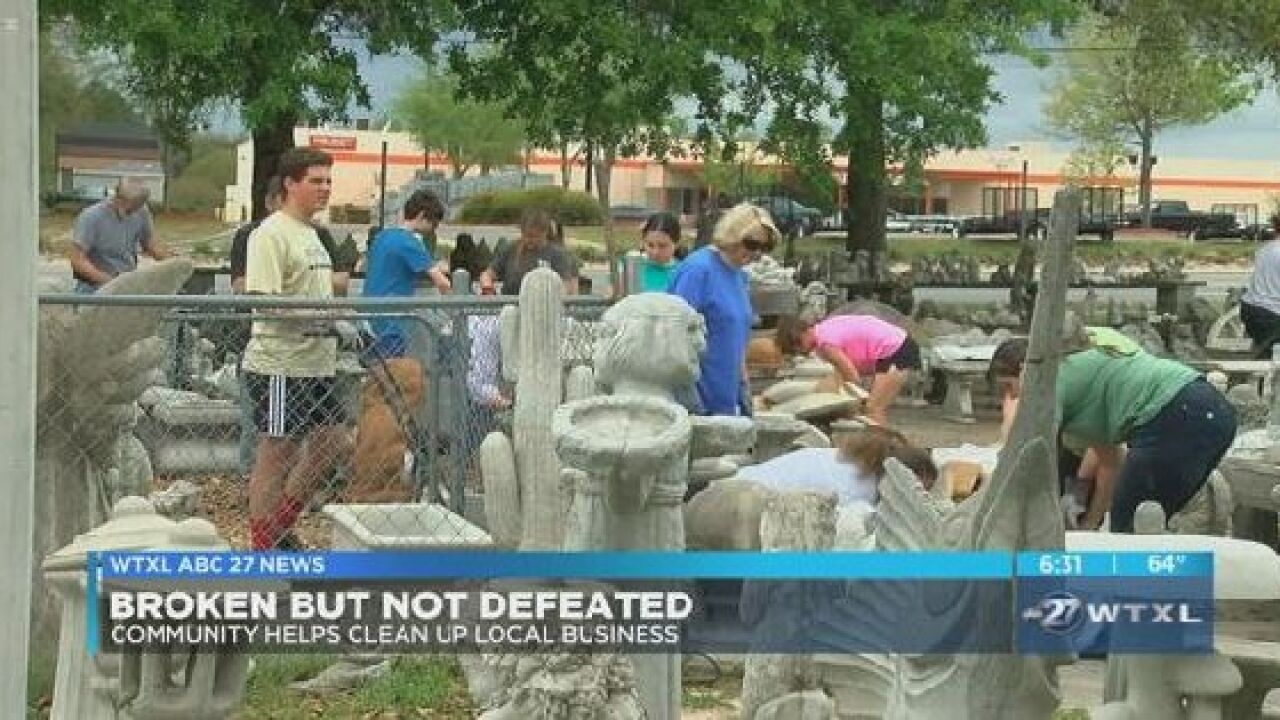 Tallahassee Community Comes Together To Help The Patio Shop