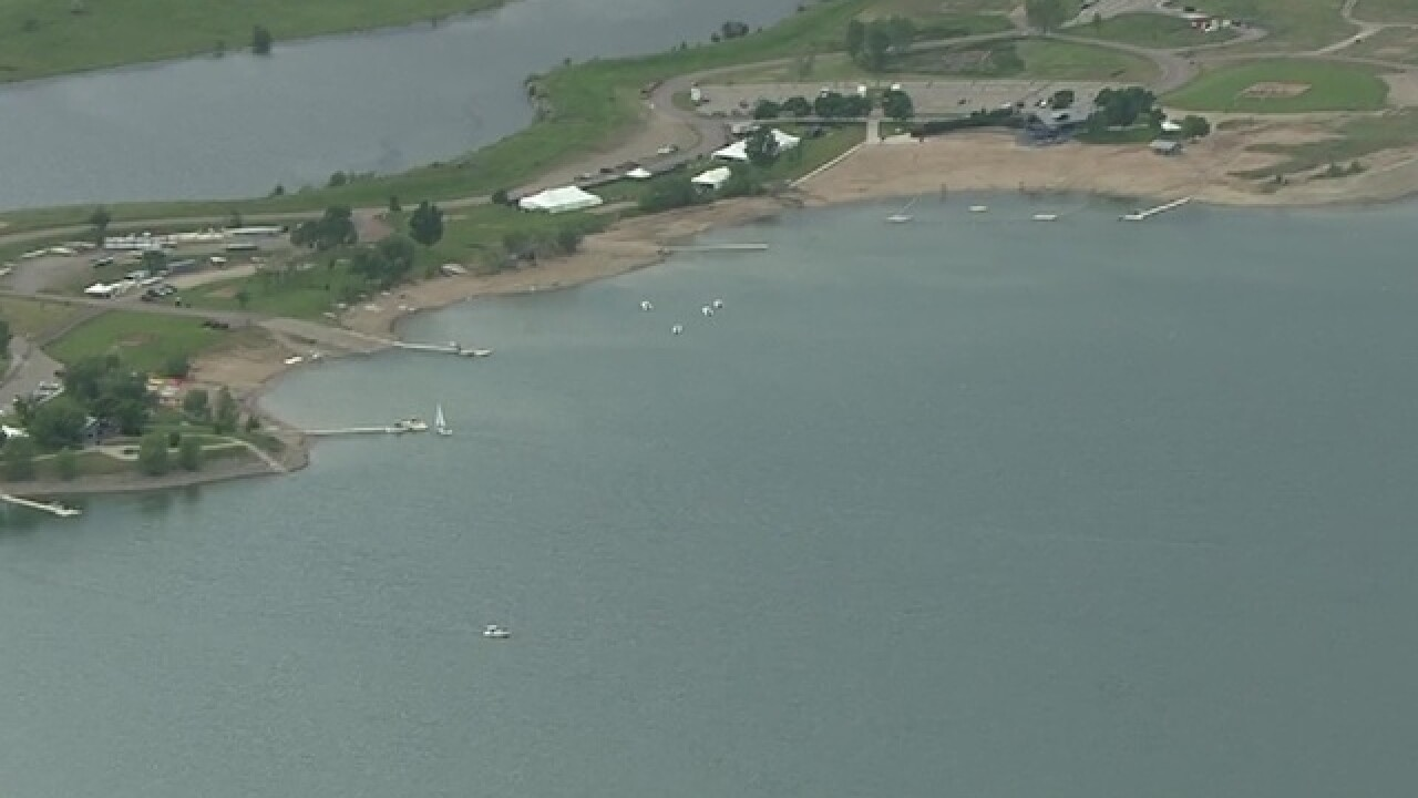Boulder Reservoir section closed due to bacteria