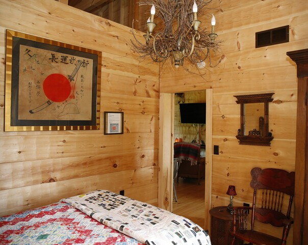 Home Tour: This unique 'hybrid log cabin' gives Steve and Paula Chapman a peaceful place to retire