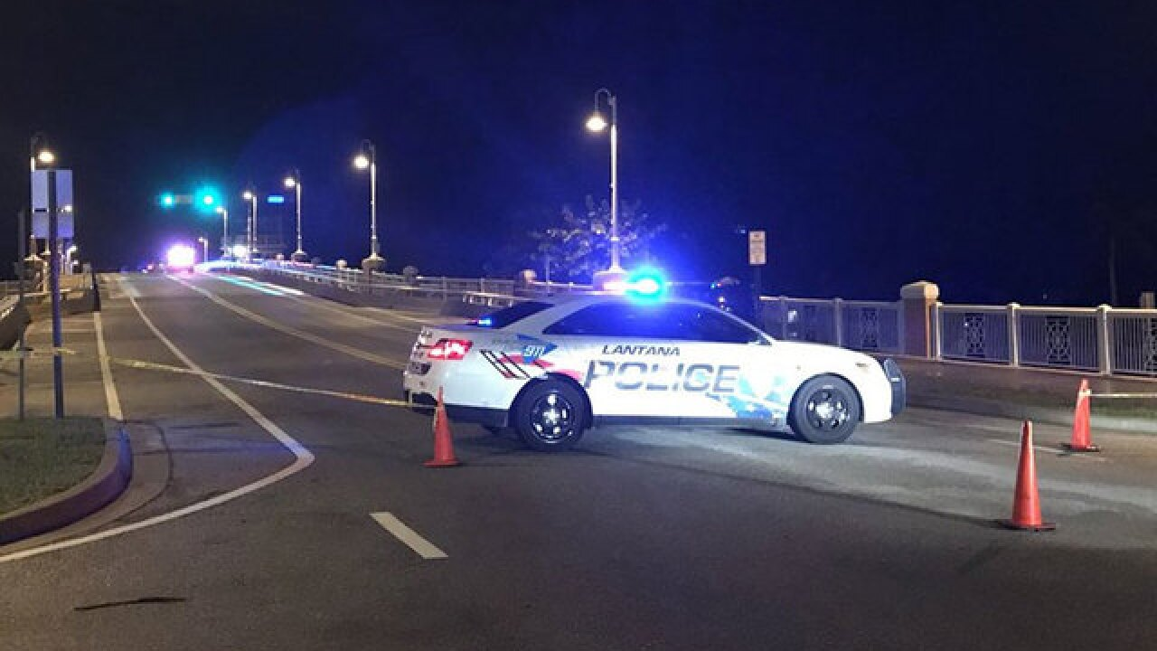 Victim identified in fatal Lantana bridge crash