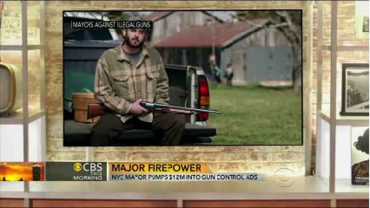 Bloomberg spends $12 million on gun control ads