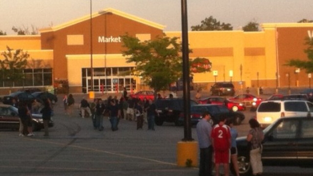 Walmart evacuated after shoplifter busted with meth lab