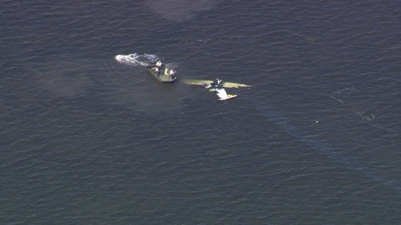 Report of small aircraft down off Gulf coast