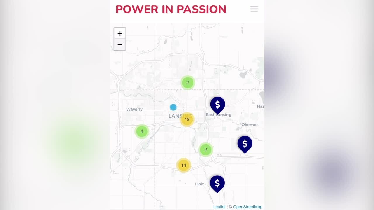 Power in Passion App