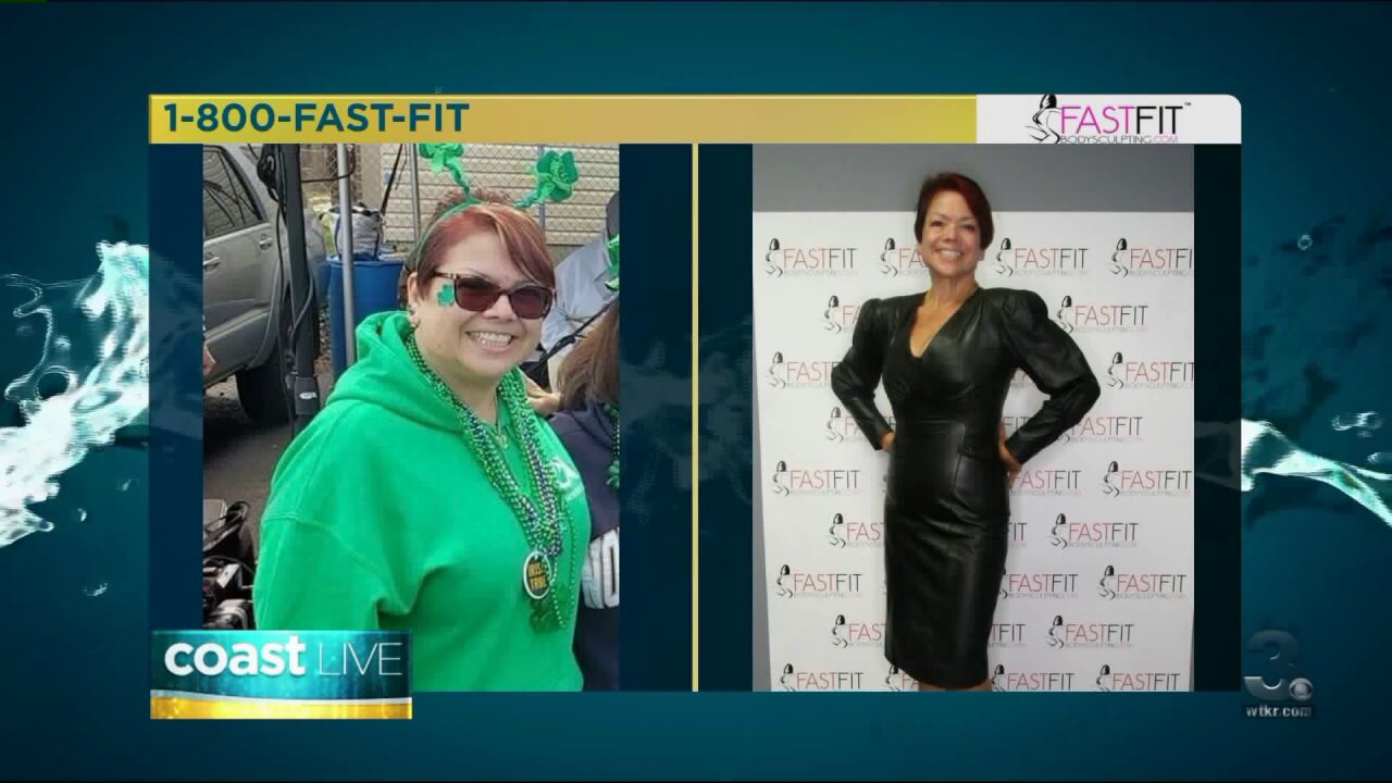 Learning about one client's incredible Fast Fit journey on CoastLive