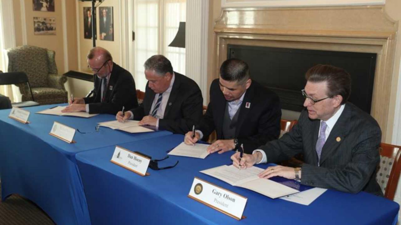 New partnership formed for student veterans