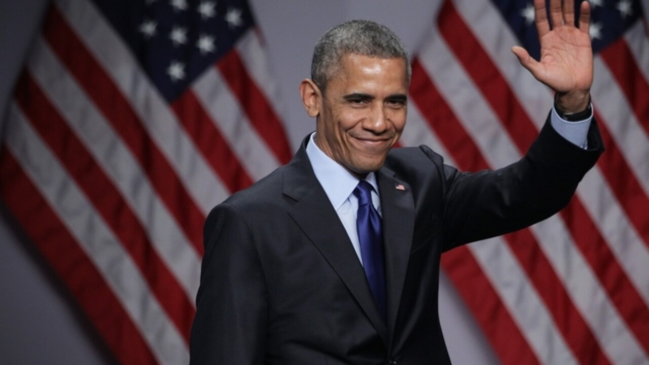 Obama pens goodbye letter to the American people